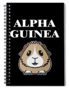 Alpha Guinea Pig Spiral Notebook