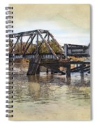 Altamaha Park Trestle Spiral Notebook