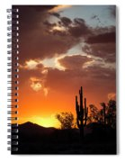 Always Look To The West Spiral Notebook