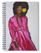 Amara Lanegra Spiral Notebook