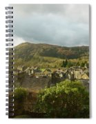 Ambleside Rooftops In The Lake District National Park Spiral Notebook
