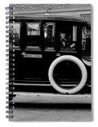 Ambulance - Armstrong And Hotson 1918 Spiral Notebook