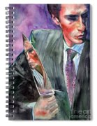 American Psycho Painting Spiral Notebook
