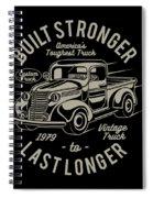 Americas Toughest Truck Spiral Notebook