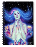 Amethyst Spiral Notebook