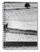 Amish Country Lancaster Pennsylvania Bw Spiral Notebook