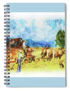 Amish Life Spiral Notebook