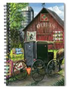 Amish Quilts Spiral Notebook