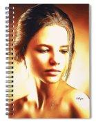 Anastasia Portrait Spiral Notebook