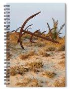 Anchors In Barril Beach Spiral Notebook