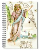 Angel  Carrying A Palm Branch Spiral Notebook