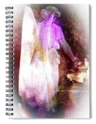 Angel Ethereal Spiral Notebook