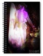 Angel In Black Spiral Notebook