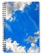 Angels Arriving Spiral Notebook
