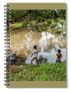 Angkor Fishing Family Spiral Notebook