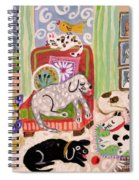 Animal Family 1 Spiral Notebook