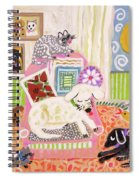 Animal Family 2 Spiral Notebook