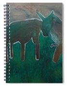 Animals In A Field Spiral Notebook