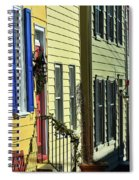 Annapolis Row Spiral Notebook