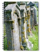 Annapolis Royal Gravestones Spiral Notebook
