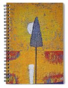 Another Day At The Office Original Painting Spiral Notebook