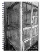 Antique Bird Cage Spiral Notebook