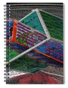 Antique Car Hood With 3d Text Boxes Spiral Notebook