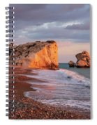 Aphrodite's Birthplace Or Petra Tou Romiou In Cyprus 2 Spiral Notebook
