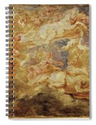 Apollo In The Chariot Of The Sun             Spiral Notebook