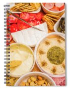 Appetizers Delight Spiral Notebook