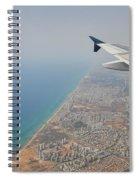 approach to Ben Gurion Airport, Israel w4 Spiral Notebook