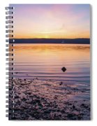 April Dawn On The Hudson River II Spiral Notebook