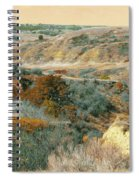April Domain In Dakota West Spiral Notebook