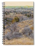 April Prairie Reverie Spiral Notebook