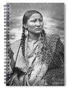 Arapahoe Woman Spiral Notebook