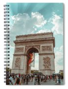 Arc De Triomphe - World Cup 2018 Spiral Notebook