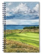 Arcadia Bluffs Spiral Notebook