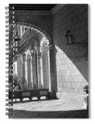 Arch And Shawdow Spiral Notebook
