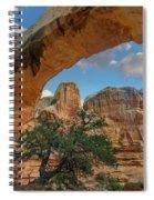 Arch, Hickman Bridge, Capitol Reef Spiral Notebook