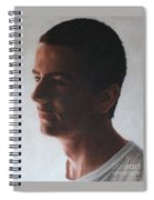 Archangel Michael Spiral Notebook
