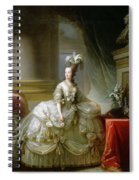 Archduchess Marie Antoinette  Spiral Notebook