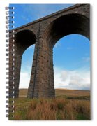 Arches And Piers Of The Ribblehead Viaduct North Yorkshire Spiral Notebook