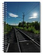 Arctic Express Spiral Notebook