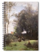 Arleux-palluel The Bridge Of Trysts Spiral Notebook