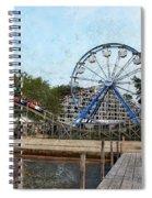 Arnolds Park - Grunge Look Spiral Notebook