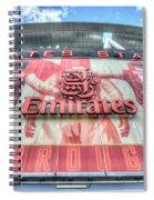 Arsenal Fc Stadium London Spiral Notebook