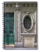 Art Deco Doorway Spiral Notebook