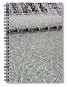 Arthur J. Will Memorial Fountain At Grand Park Spiral Notebook