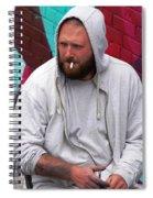 Artist Frown Spiral Notebook