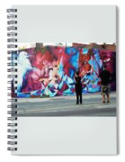 Artists Record The Moment Spiral Notebook